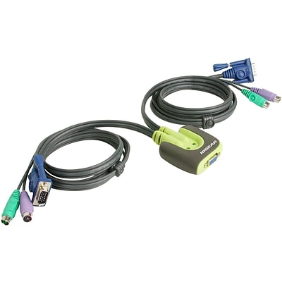 logear GCS62 PS/2 KVM Switch; 2 Port