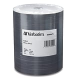 Verbatim® 700MB CD-R; 100/Pack