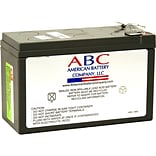ABC® RBC17 108 Vah Replacement Battery Cartridge