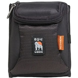 Ape Case® AC252 Tri-Fold Wallet and Camera Case; Black