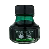 Monteverde Fountain Pen Ink Bottle Refills, 90ML, Green