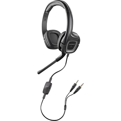 Plantronics® Audio 355 Stereo Headset With 3.5 mm Adapter