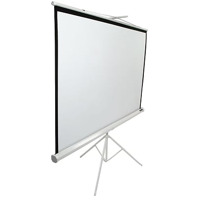 Elite Screens Tripod Series 113 Portable Projection Screen; 1:1, Matte White