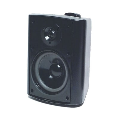 TIC® ASP60B Black Patio Speaker System