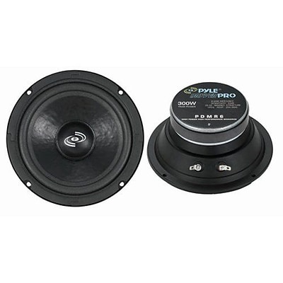 Pyle® PDMR6 150 W High Power RMS Midrange Speaker