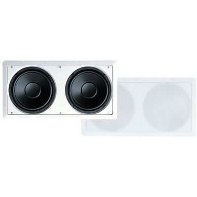 Pyle® PDIWS28 Dual 8 High Power In Wall Subwoofer System