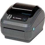 Zebra Technologies G Series GX 203 dpi 6 in/s Direct Thermal Desktop Label Printer