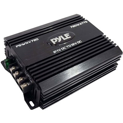 Pyle® PSWNV720 720W 24V DC To 12 V DC Power Step Down Converter With PMW Technology