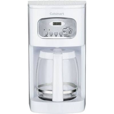 Cuisinart® 12 Cup Programmable Coffeemaker; White