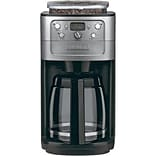 Cuisinart® Grind & Brew™ 12 Cup Automatic Coffeemaker With Bean Hopper; Silver/Black