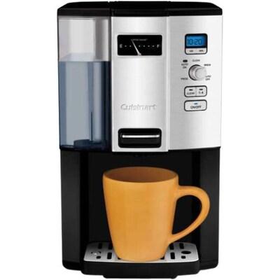 Cuisinart Coffee On Demand 12 Cup Programmable Coffeemaker Black Silver