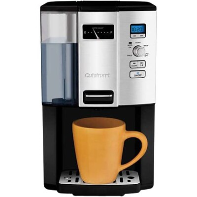 Cuisinart® Coffee on Demand™ 12 Cup Programmable Coffeemaker; Black/Silver