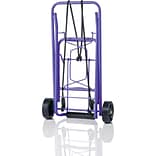 Conair® Travel Smart® Folding Multi Use Luggage Cart; Purple