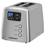 Cuisinart® Touch to Toast™ Leverless 2-Slice Toaster; Stainless Steel