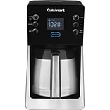 Cuisinart® Perfec Temp® 12 Cup Programmable Thermal Coffeemaker; Silver/Black