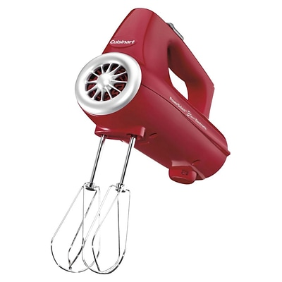 Conair® Cuisinart® PowerSelect™ 3 Speed Electronic Hand Mixer; Red