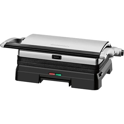 Conair Cuisinart Griddler Stainless Steel Grill and Panini Press