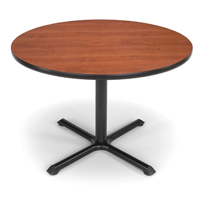 OFM X-Series 42 Round Multi-Purpose Table, Cherry