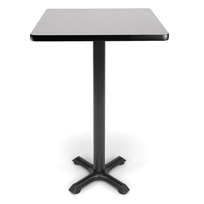 OFM X-Series 24 Cafe Height Table, Gray Nebula