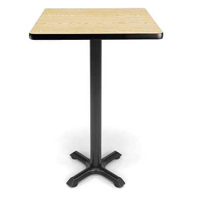 OFM X-Series 24 Cafe Height Table, Oak