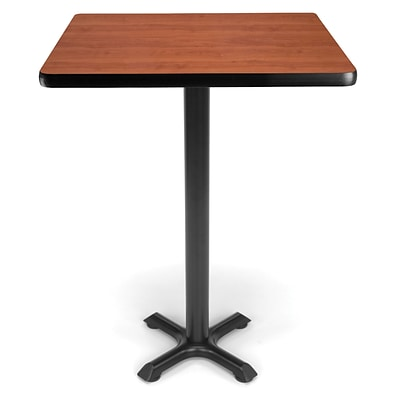 OFM X-Series 30 Cafe Height Table, Cherry