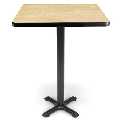 OFM X-Series 30 Cafe Height Table, Oak