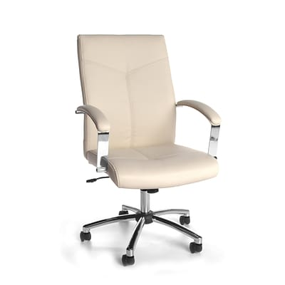 OFM Vinyl Conference Chair, Cream (E1003-CRM)