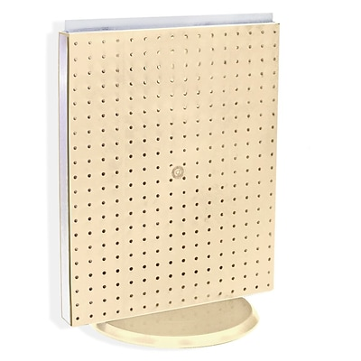 Azar® 20(H) x 16(W) Pegboard Counter Unit, Almond Solid