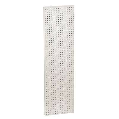 Azar® 60(H) x 16(W) Pegboard Wall Panel, Solid White, 2/Pack