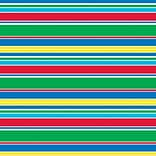 Shamrock 20 x 30 Cabana Stripes Printed Tissue Paper; Red/Green/Blue/Yellow, 200/Pack