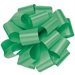 Shamrock 5 x 18 Loops Splendorette® Pre Notched Bows; Emerald, 100/Carton