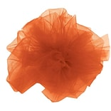 Shamrock 6 x 25 yds. Tulle Ribbon; Orange, Roll
