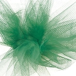 Shamrock 6 x 25 yds. Tulle Ribbon, Emerald, Roll