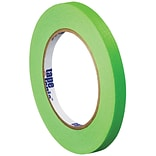Tape Logic™ 1/4 x 60 Yards Masking Tape, Light Green, 12 Rolls (T93100312PKA)