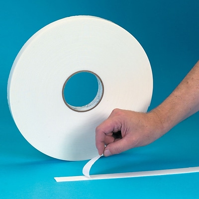 3M™ 3/4 x 72 yds. Double Coated Foam Tape 4032, Off-White