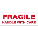 Tape Logic™ 2 x 110 yds. Pre Printed Fragile Handle With Care Carton Sealing Tape, 6/Pack
