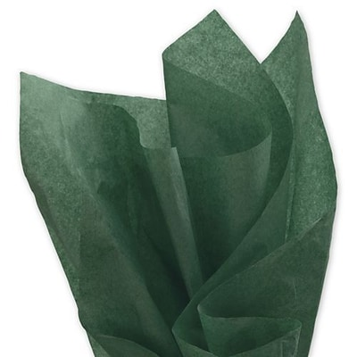 20 x 30 Solid Tissue Paper, Evergreen (11-01-20)