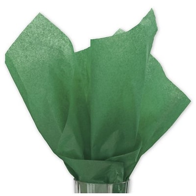 20 x 30 Solid Tissue Paper, Holiday Green (11-01-5)