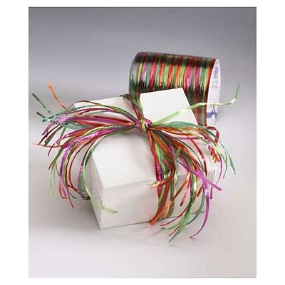 Bags & Bows® 1/4 x 55 yds. Holiday Raffia Pearl Ribbon, RL