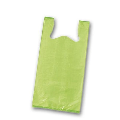 Bags & Bows® 23 x 11 1/2 x 7 Unprinted T-Shirt Bags, 1000/Pack
