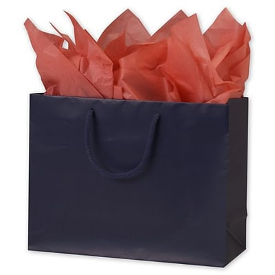 Bags & Bows® 10 x 13 x 5 Matte Laminated Euro-Shoppers, 100/Pack