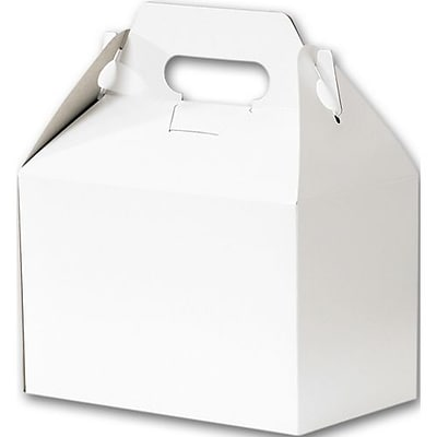 Bags & Bows® 5 1/4 x 4 7/8 x 8 Gable Boxes, 100/Pack