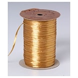 1/4 x 100 yds. Pearlized Wraphia Ribbon, Pearlized Gold (263-2-94)