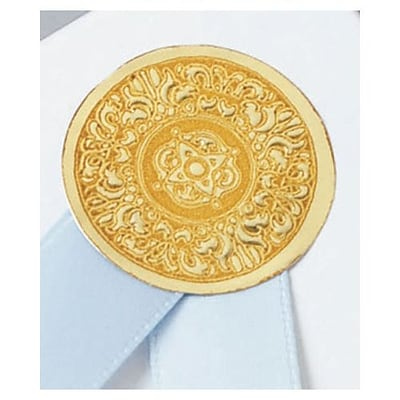 Bags & Bows® 1 Medallion Seal, Gold, 250/RL