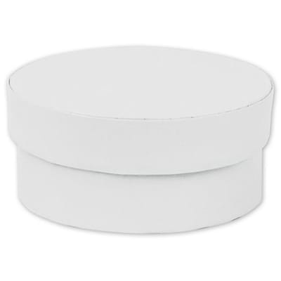Grayboard 3.5Dia. x 1.5D Mod Boxes, White, 10/Pack (4123-0117)
