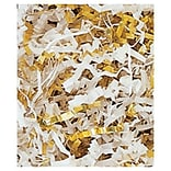 10 lbs. Metallic Crinkle Cut Fill, Gold/White Blend (431-12-GB)