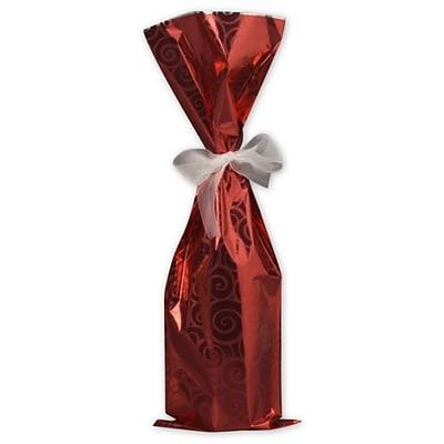 Bags Bows 6 1 2 X 20 Mylar Wine
