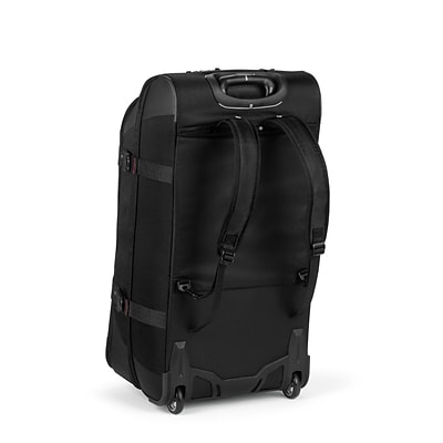 High Sierra AT759 Rolling Upright Duffel 32 Black