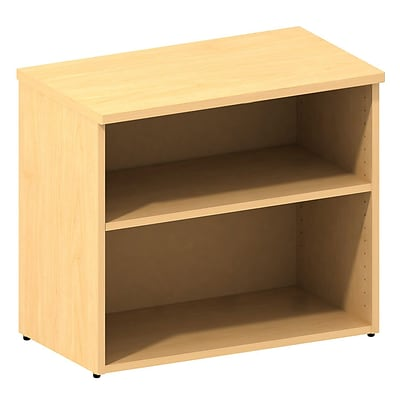 Bush Business 300 Series 30W Bookcase, Natural Maple