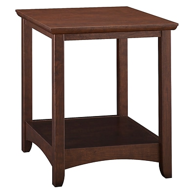 Bush Furniture Buena Vista End Table, Madison Cherry